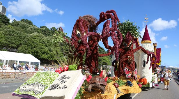Colourful Tradition on the Channel Island Jersey