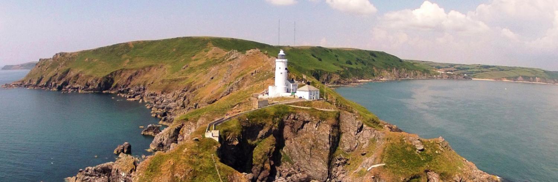 Eindrucksvolle Wahrzeichen an Englands Küste