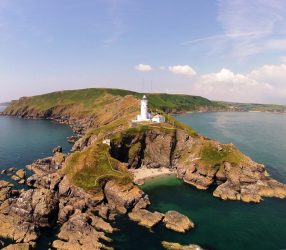 Impressive landmarks along England's Coast