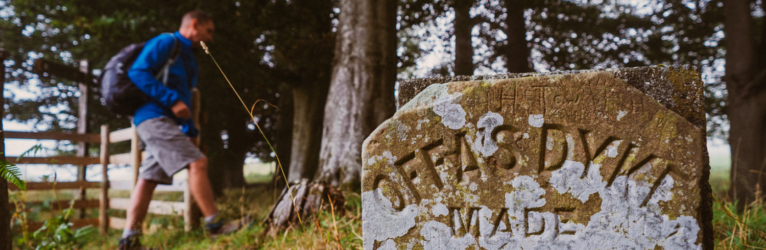"""""""Walking with Offa"""" – 50 Jahre Offa's Dyke Path in Wales"""