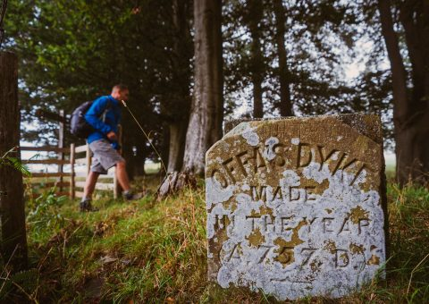 """Walking with Offa"" – 50 Jahre Offa's Dyke Path in Wales"